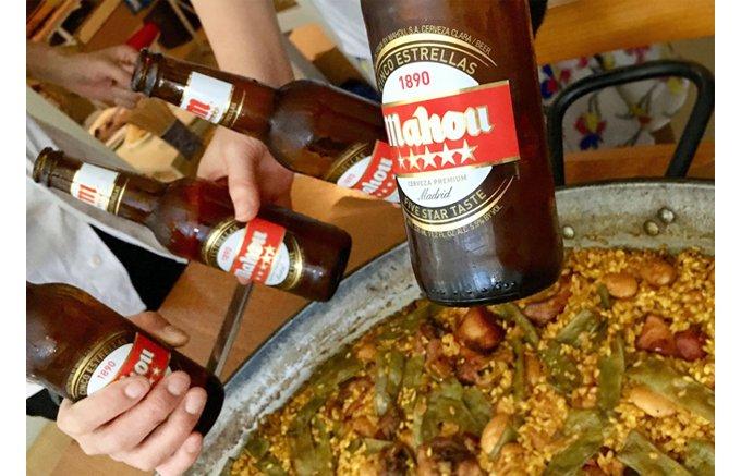 スペインを代表する5ツ星のプレミアムビール「Mahou(マオウ)」