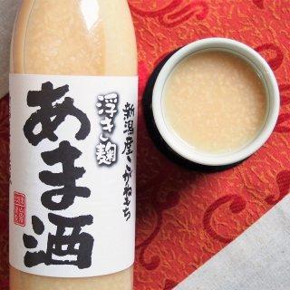 """まるで""""食べる甘酒""""!米麹をしっかり感じられる「新潟米こがねもち浮き麹 あま酒」"""