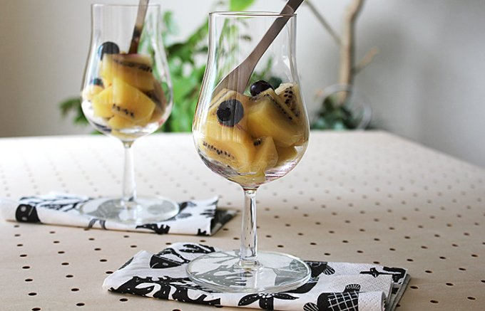 イッタラのデザートワイングラスは小さめのフォルムが魅力!