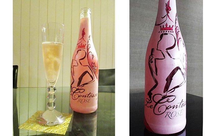 【限定300本輸入】ニヴェス・カッツペリーニによるオリジナルデザインのロゼの泡