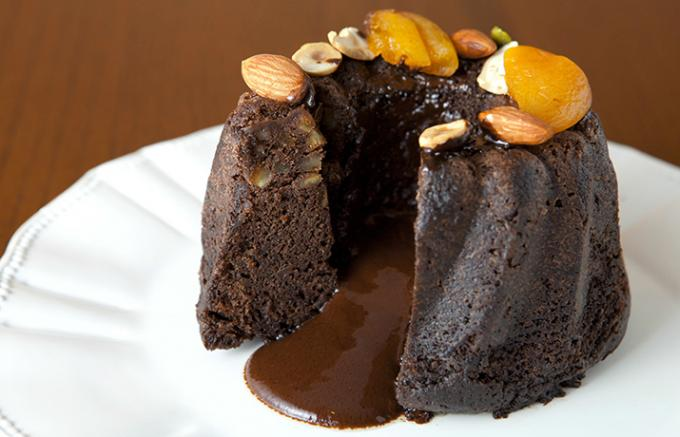 VSOPが芳醇に香り立つ大人のチョコレートケーキ