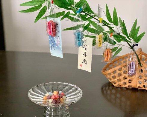 日本唯一の金平糖専門店、京都・緑寿庵清水の七夕限定「星にねがいを」