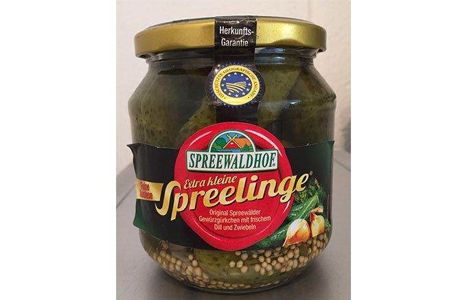 ドイツ東部の水と腐植土の産物である名物ピクルス「シュプレーヴェルダー・グルケン」