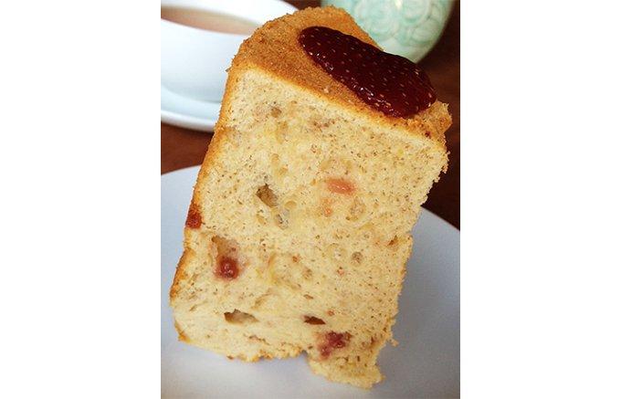 作り手の想いが伝わる、食べたら優しい気持ちになるシフォンケーキ
