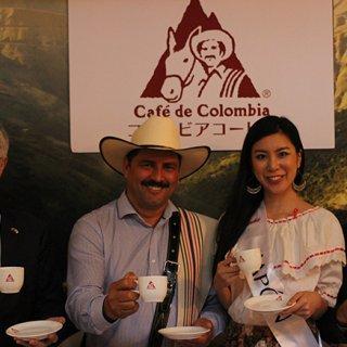 コロンビアのコーヒー生産者のシンボル!ファンバルデスが日本にやってきた