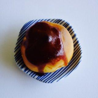 栗好き必見!!一つひとつ手間を惜しまないで作った、優しい味わいの栗饅頭「笑栗」