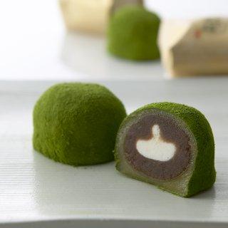 新年に相応しい王道の和菓子「辻利兵衛本店の宇治有機抹茶入大福」