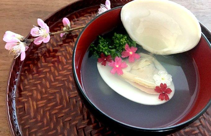 おひな祭りのお料理が一瞬で華やぐエディブルフラワー。