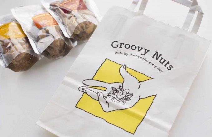 絶妙なロースト!本当に良質なナッツ揃う「Groovy Nuts」