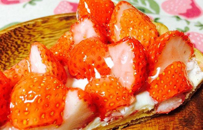 【キルフェボン】桃の薫りがする不思議ないちごのタルト