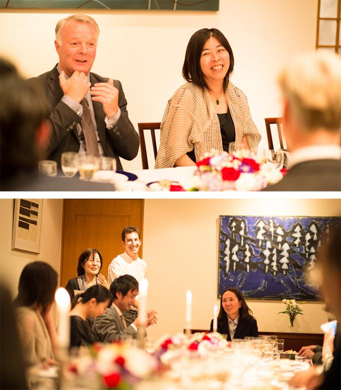 ノルウェー大使公邸 晩餐会での一夜 後編