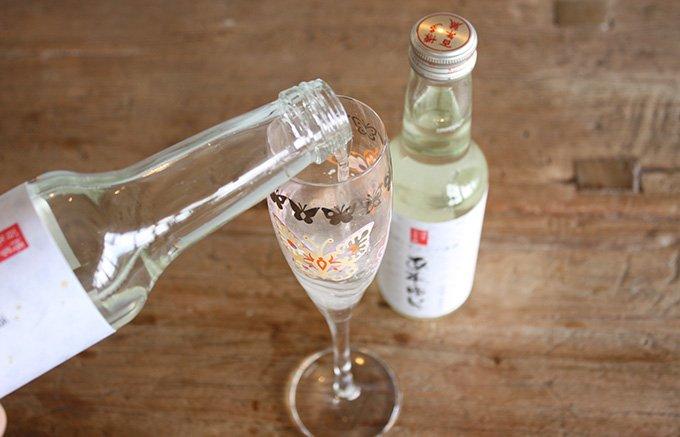 スイーツにもぴったり!出張のお供にも福岡発日本酒スパークリング「あわゆら」