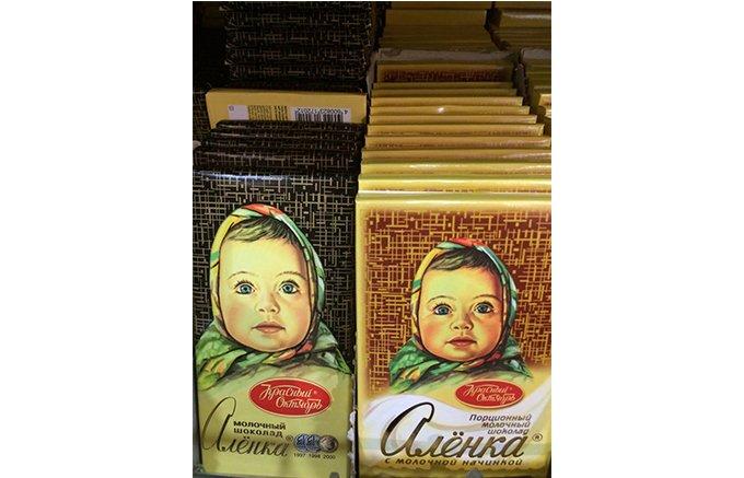 ロシアに行ったら買ってきて欲しい!ロシア土産の定番チョコレート