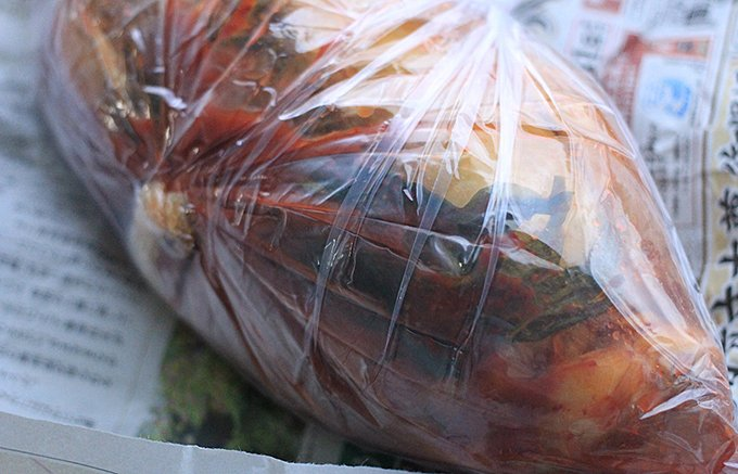 本場韓国の味が1kg1000円!新大久保コリアスンデ家の作りたて激うまキムチ