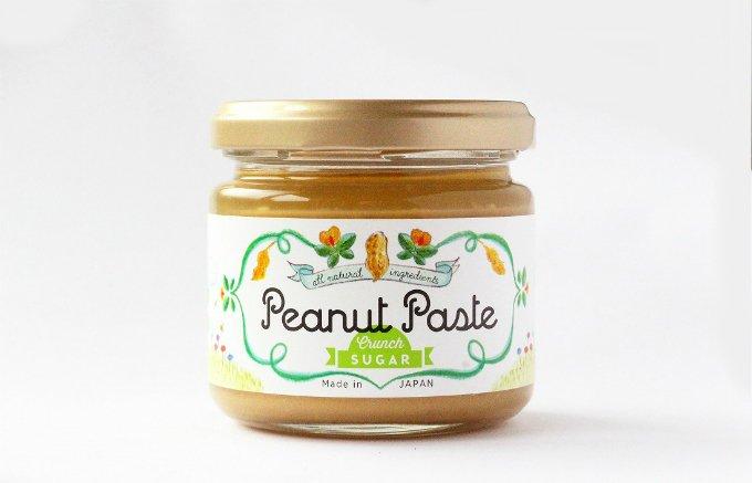 素材そのものが持つ味わいが楽しめる、ピーナッツペーストの真骨頂!