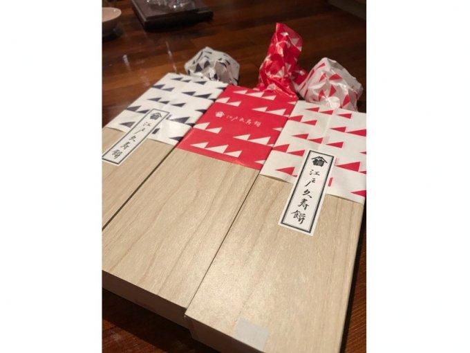キュートなハート型の正体は「久寿餅」だった!『江戸久寿餅』のカラフル久寿餅