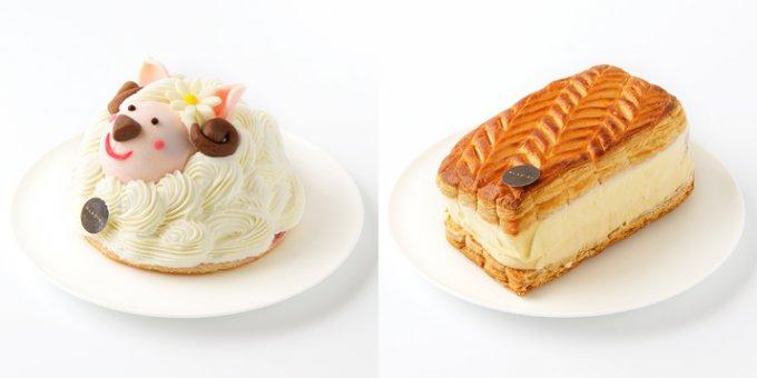 羊&焼き菓子のアイスケーキ!新年にふさわしい話題の新作【アントルメグラッセ】!