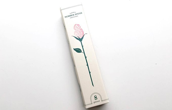一輪の薔薇よりも嬉しい!? ナンバーシュガーのキャラメルボックス