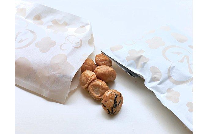 カリっと食べ飽きない!小粒サイズの小粋なお菓子「柚子ポンごろも」