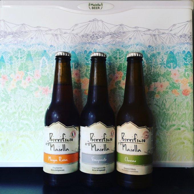 素材すべてがオーガニックのクラフトビール「マイエッラビール」