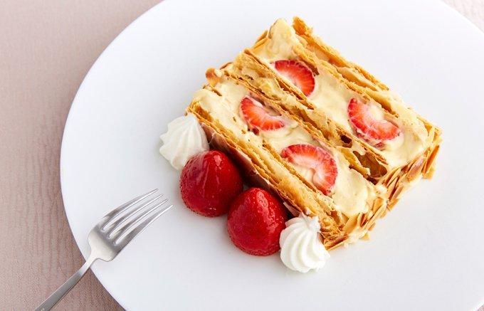 重なるおいしさ!パイとクリームのコントラストが格別なミルフィーユ7選