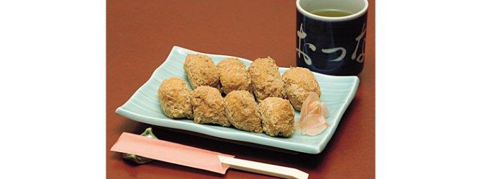 創業140年、六本木の老舗寿司屋の「いなり寿司」