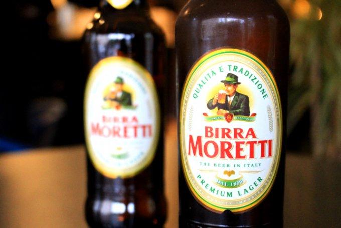 爽やかに飲める夏にお勧めイタリアビール「モレッティ」
