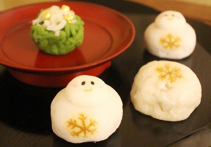 クリスマスを愉しむ、熟練職人が作る和菓子