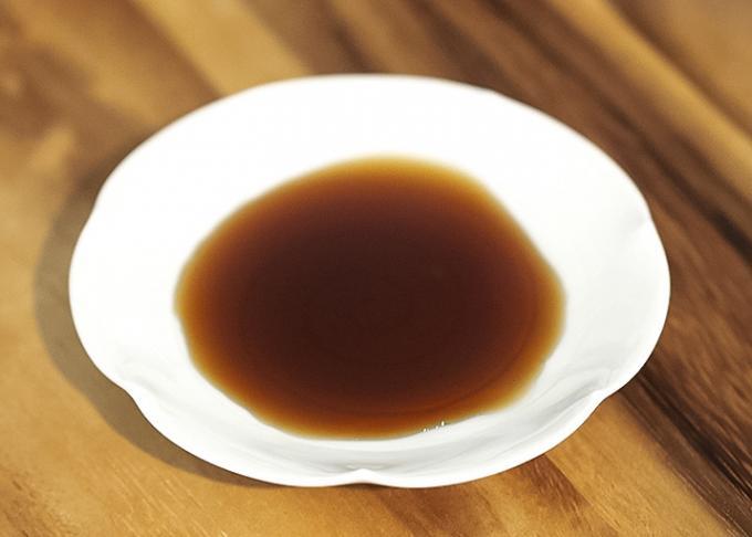 ヘルシーな「お口直し」の飲み物、梅粕酢。