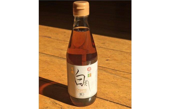 これ1本で割烹の味へと変身する調味料七福醸造の「有機白だし」