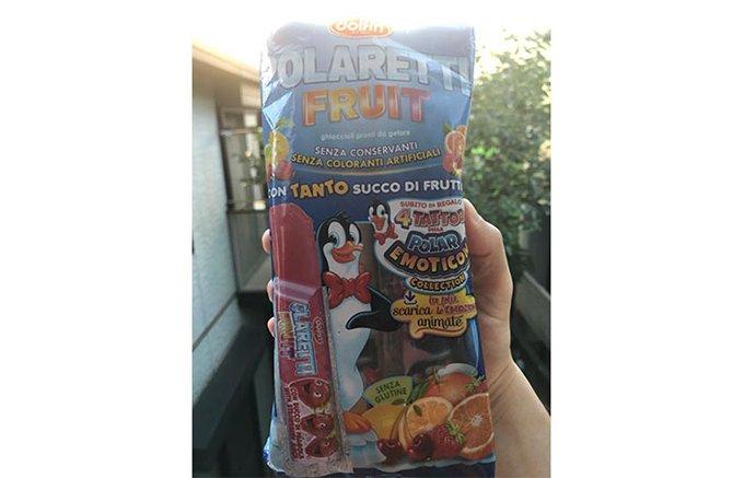 暑い夏に欠かせない!イタリア版チューペット「ポラレッティー・フルーツ」