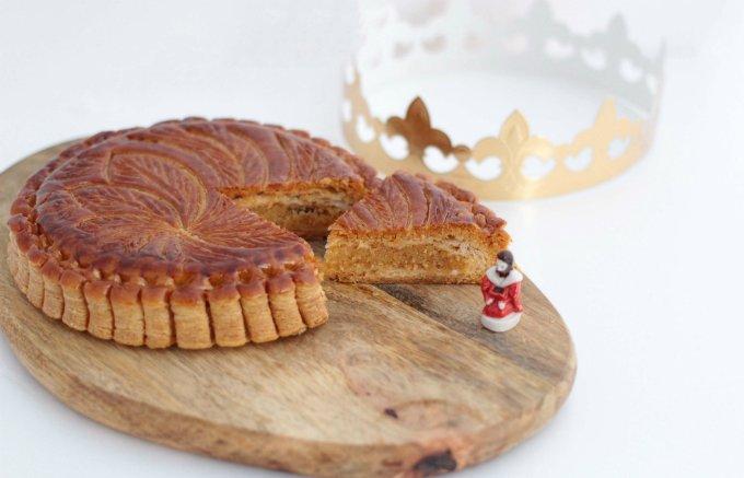 新年の運試し! サクサクとしたパイ生地の食感がたまらない「ガレット・デ・ロワ」