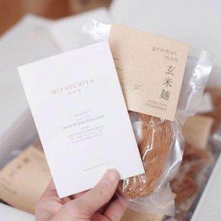 島根県雲南市で大切に育てたこだわりのお米からできた『宮内舎』のもちもち玄米麺