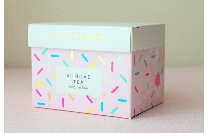 アイスティで暑さ乗り切る!フォートナム・アンド・メイソン「SUNDAE TEA」