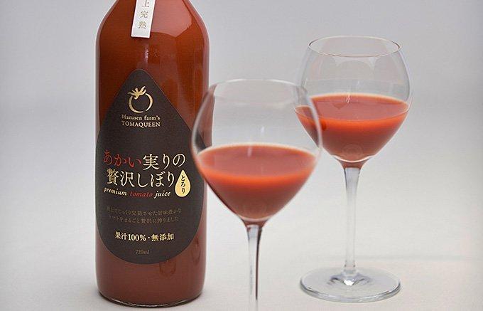 「猛暑日を乗り越える!」丸ごとかじっている濃厚さで簡単に飲めるトマトジュース
