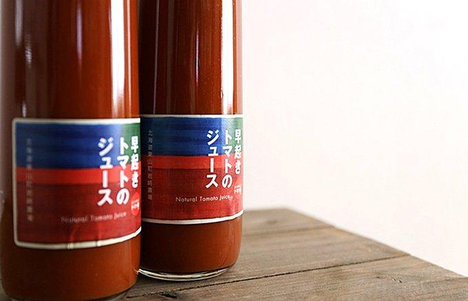 スプーンですくって飲むトマトジュース!北海道岩崎農場の「早起きトマトのジュース」