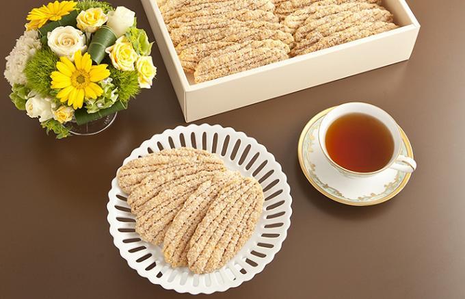 サクッと軽い木の葉型のパイ