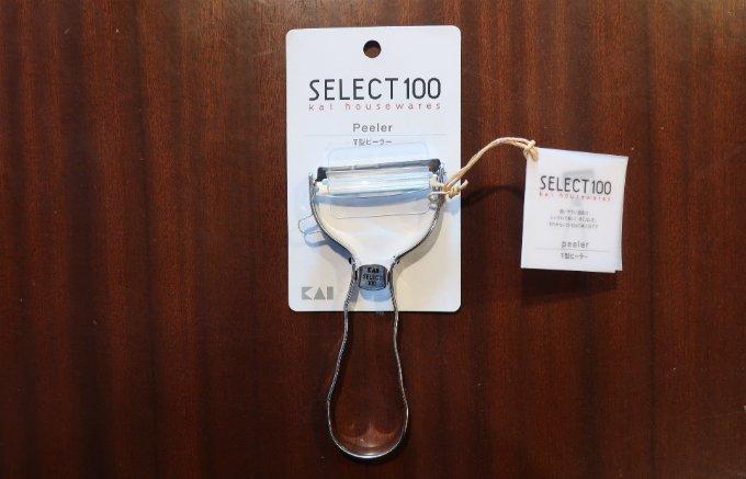キッチンに常備したいピーラーの傑作SELECT100シリーズの「T型ピーラー」
