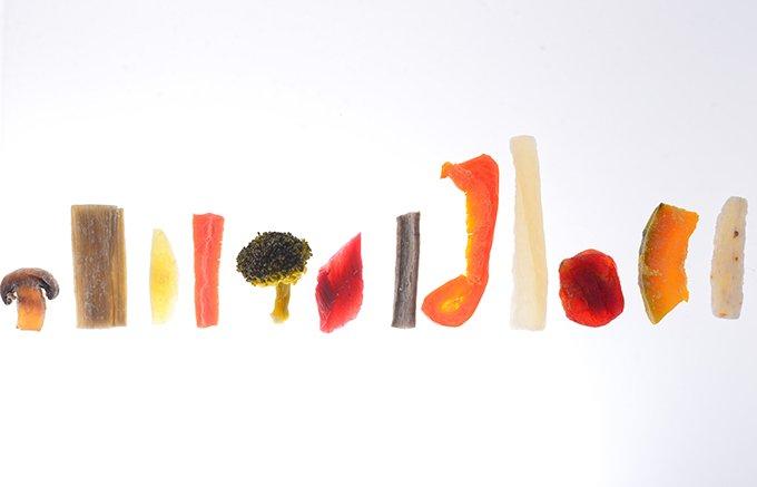 北海道十勝の野菜のうまみがぎゅっと詰まったドライベジタブル「十勝糖彩」