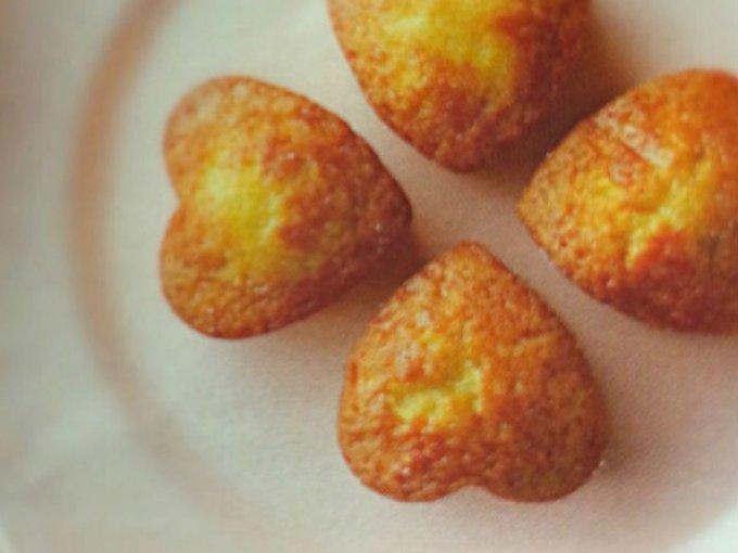 ほのかな甘さのメープルマドレーヌで幸せ【ボナペティ】