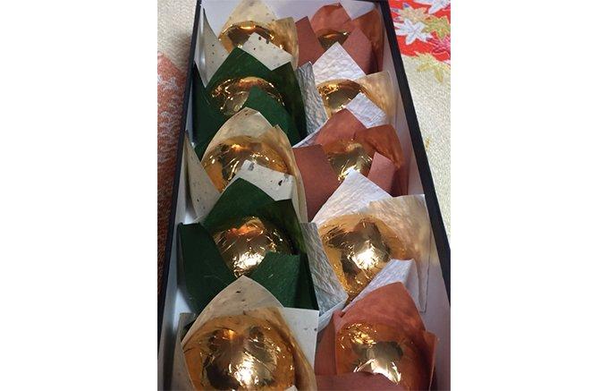 心を高める美しい手土産。栗とスイスの高級チョコが見事にマッチング