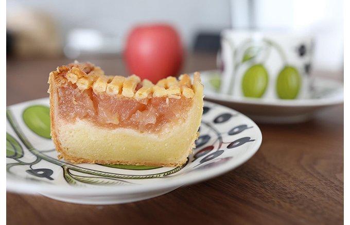 なぜか懐かしい!アトリエ・ド・フロマージュ「自家製カマンベールのアップルパイ」