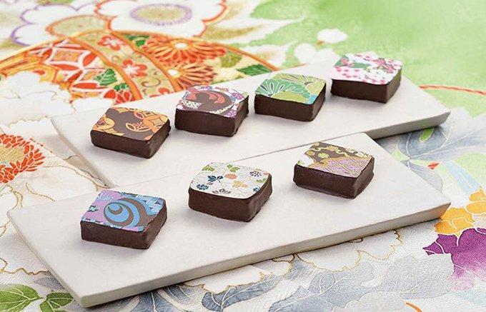 京の伝統美と味×パリのエスプリの融合!縁起の良い「ショコラ デ 吉祥」