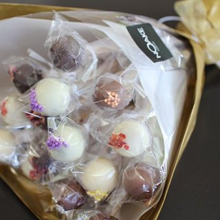 甘い言葉と一緒に贈る甘い花束、キャラメルブーケ
