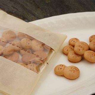 メッセージカードに添えるサプライズ和菓子ならこれ!縁起良しの「福」だるま!
