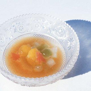 旬の果物があんみつに!?スタイリッシュなISSUIの水乃果あんみつ