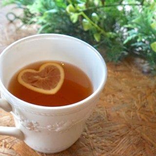 """ハートのレモンで""""ありがとう""""。心も潤おす和紅茶「FLTレモンハート」"""