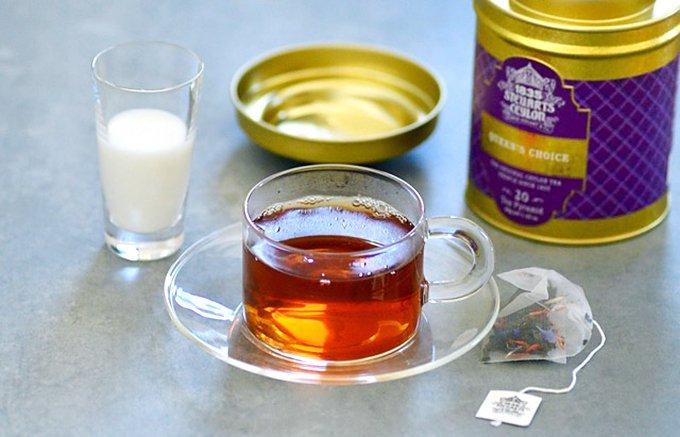 仕事のリフレッシュタイムに!簡単に出来てアロマも香るティーバッグの紅茶