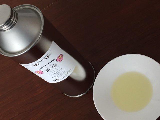 国産の油を食べよう!ボディケアにも!おいしい純粋三原椿油