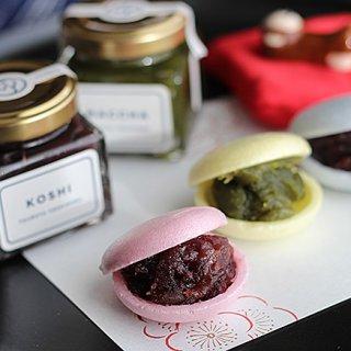 小倉・こし・抹茶 自分好みの餡を好みで詰める1店舗限定販売「IROMONAKA」